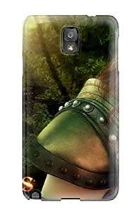 New Cute Funny Guildwars Ranger Case Cover/ Galaxy Note 3 Case Cover