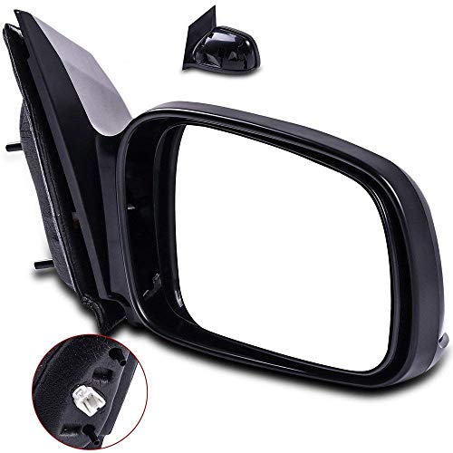 Door Mirrors ECCPP High Performance Passenger Side Mirror Replacement Right Side Mirror with Coupe Power Adjusted Replacement fit for 2006-2011 Honda Civic ()