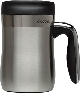 Aladdin Essential Stainless Steel Insulated Desktop Mug 16oz, Black