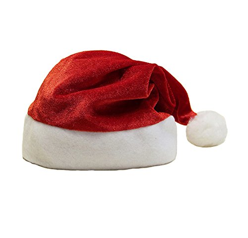Classic Christmas Costumes Santa Claus Suit Christmas Hat (Kid's Hat) (Kids Santa Hat)