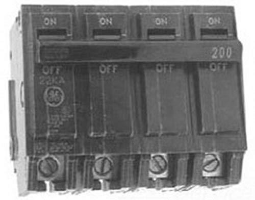 GE Distribution THQMV200WL PowerMark Gold™ Top Feed Main Circuit Breaker 200 Amp 120 Volt 2-Pole Plug-In Mount