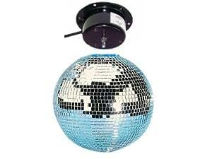 Bola espejos Bola disco Ø 30 cm con motor - Iluminación fiesta Show de luces