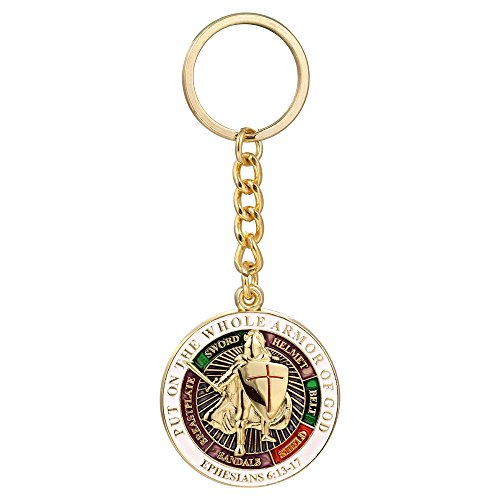 Knights Templar Put On The Whole Armor Of God Key ring Keychain