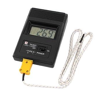 LCD K-Tipo termómetro Digital TM-902C w Cable del termopar