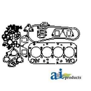 Amazon.com: 1940030 Gasket Set Upper Fits Fiat Tractors