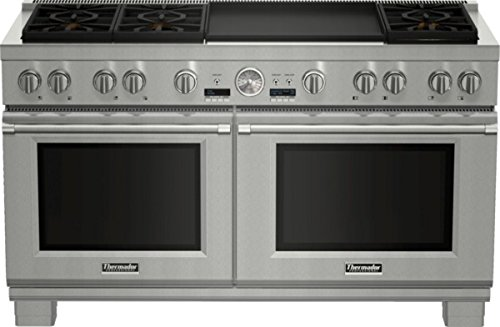 60 Inch Professional Series Pro Grand Commercial Depth Dual Fuel RA... (Dual Fuel Commercial Range)