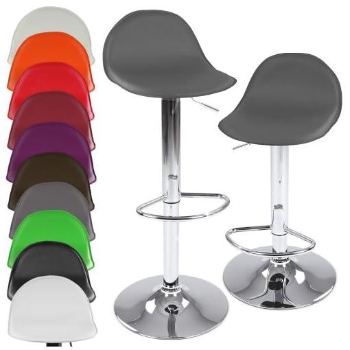 Miadomodo-Taburete-giratorio-2-unidades-altura-ajustable-gran-variedad-de-colores-para-elegir