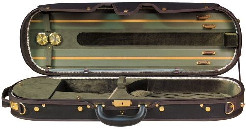 Baker Street BK-4030 Luxury Violin Case - Modern Oblong