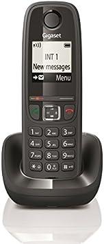 Gigaset AS405H - Teléfono inalámbrico supletorio para añadir a una base. No requiere de conexión a la red telefónica: Gigaset: Amazon.es: Electrónica