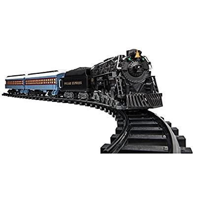 Lionel The Polar Express Battery-powered Model Train Set, Ready to Play with Remote: Toys & Games
