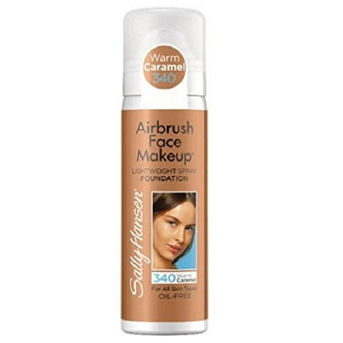 Sally Hansen Airbrush Face Makeup Warm Caramel 340