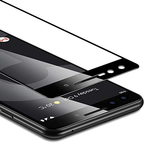 ESR Tempered Glass Screen Protector Compatible for Google Pixel 3, [1-Pack] [Edge-to-Edge Coverage] [Fingerprint, Scratch & Force-Resistant] [Case-Friendly] for Google Pixel 3 (Not for Pixel 3 XL)