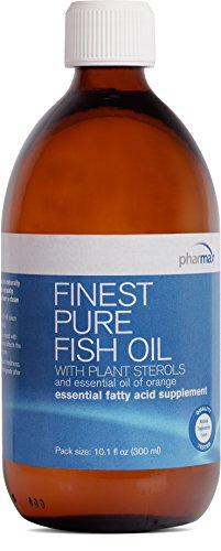Pharmax - Finest Pure Fish Oil - with Plant Sterols and Essential Oil of Orange to Support Optimal Cardiovascular Health* - 10.1 fl oz (300 ml) by Pharmax