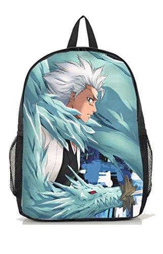 [Dreamcosplay BLEACH Hitsugaya Toushirou Backpack bag School Bag] (Hitsugaya Cosplay Costume)