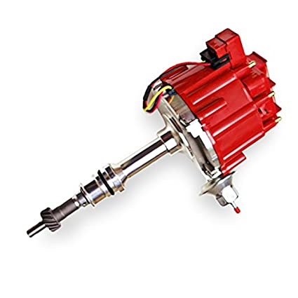 amazon com sbf ford small block 260 289 302 hei ignition red cap  sbf ford small block 260 289 302 hei ignition red cap distributor w 65k coil