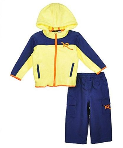 Rocawear Baby Boy's Fleece Jacket & Pants Set (24 Months)