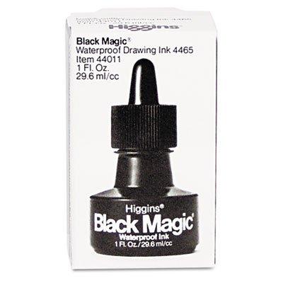 SAN44011 - Sanford Higgins Black Magic Waterproof Drawing Ink by Higgins