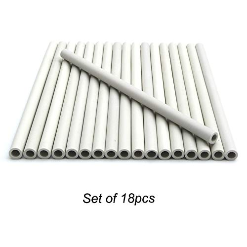 Direct store Parts DF-18 Replacement Gas Grill Ceramic Radiants, BBQ Grill Ceramic Rods for DCS Heat Plates, for DCS Grill 245398, DCSCT, 9.5
