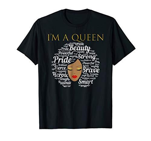 African Queen Shirt for Beautiful African Women and Teens ()