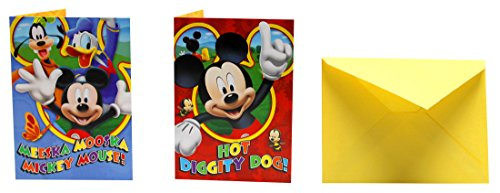 New Disney Mickey Mouse Playhouse Playtime Clubhouse Invitations - Minecraft Party Invitations Cards