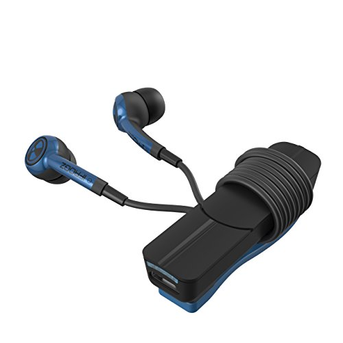 ifrogz audio plugz wireless bluetooth earbuds blue. Black Bedroom Furniture Sets. Home Design Ideas