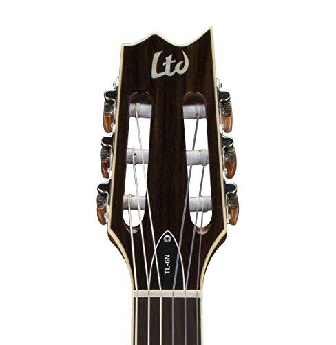 ESP LTD TL-6N Thin Line Acoustic Electric Guitar, Natural