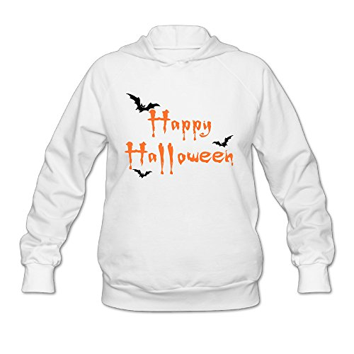 [SAMMOI Halloween7 Men's Cool Fleece Sweatshirt L White] (Sexy Cosplay Ideas)