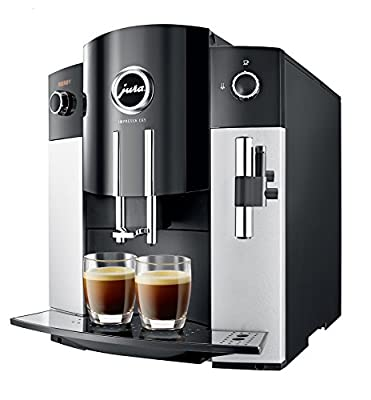 Jura IMPRESSA C65 Automatic Coffee Machine, Platinum by Jura