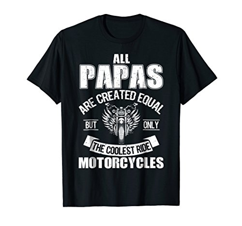 Only The Coolest Ride Motorcycles Dad T Shirt