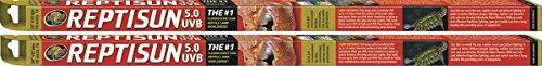"(2 Pack) Zoo Med ReptiSun Fluorescent Lamp 24"""