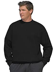 Reebok Big & Tall Fleece Crewneck Sweatshirt