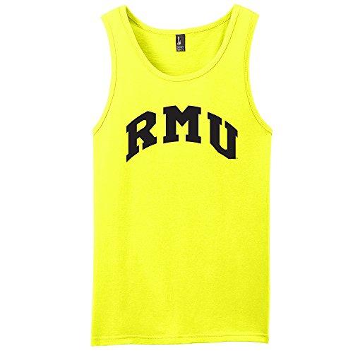 Campus Merchandise NCAA Robert Morris Colonials Arch Neon Tank, Neon Yellow, Small