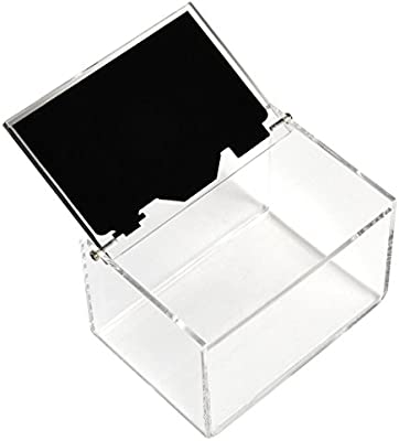 Caja de almacenamiento de fotos acrílica transparente de cámara ...