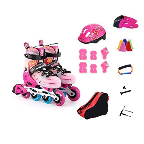 納屋完了モスクLIUXUEPING ローラースケート、 スケート、 子供のフルセットのローラースケート、 スケート、 男性と女性のローラーシューズ、 1靴二重目的のスケート