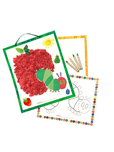 Eric Carle The Very Hungry Caterpillar Color & Collage Tissue Paper Kit (Set of 3)