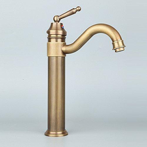 MMYNL TAPS MMYNL Waschtischarmatur Bad Mischbatterie Badarmatur Waschbecken Antike Küche Inwall voll Kupfer Badezimmer Waschtischmischer