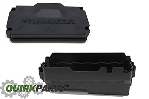2006-10 HUMMER H3 LOWER FUSE BLOCK COVER 15887759