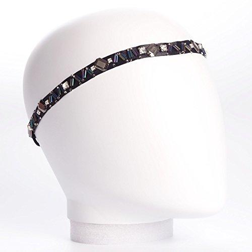 Headband ruban perle fantaisie - Headband Strass - Headband Mariage - Bandeau Cheveux