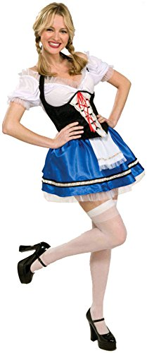 Forum Novelties Women's Oktoberfest Gretel Costume, Multi, Standard (Adult Gretel Costume)