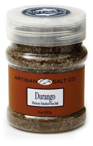 Artisan Salt Co. Durango Hickory Smoked Sea Salt, 5 Ounce Jars (Pack of 3)