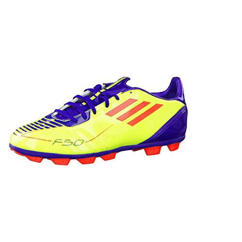 adidas Kinder Fußballschuhe F10 TRX HG J gelb-lila