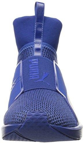 PUMA Frauen heftiger Knit Cross-Trainer Schuh Wahres Blau