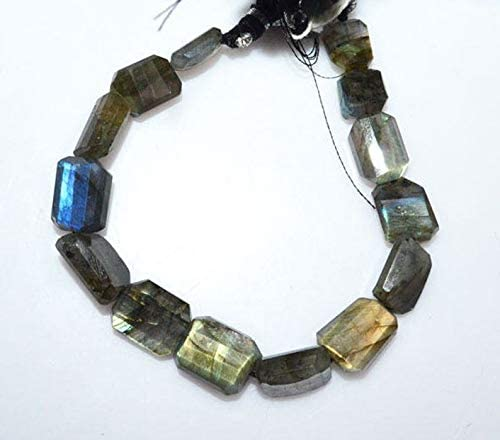 40beads. 15Strand b941 7\u00d78-9\u00d711mm Labradorite Fancy Shape Natural Labradorite Faceted Nuggets Beads
