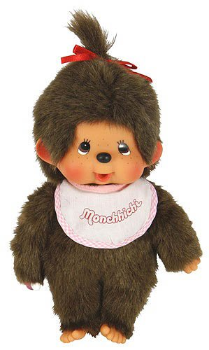 Monchhichi Basic 10quot Girl