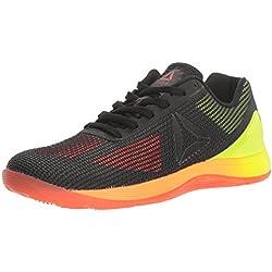 Reebok Women's Crossfit Nano 7.0 Cross-Trainer Shoe, Vitamin C/Solar Yellow/Black/Lead, 8.5 M US