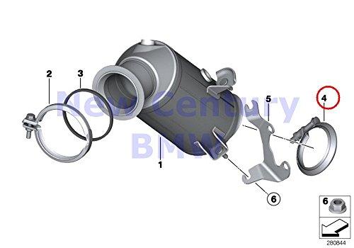 - BMW Genuine Engine-Side Catalytic Converter Front Muffler Screw Clamp M235i M235iX M235i M235iX X4 M40iX 335i 335iX Hybrid 3 435i 435iX 435i 435iX 335iX 435i 435iX