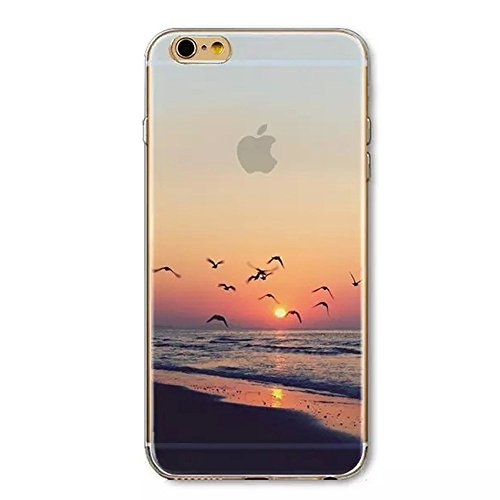 Iphone 6 Plus Case  Boomy   Beautiful Scenery Series Design Transparent Acrylic Pc Back And Tpu Edges Hybrid Protective Case Cover For Iphone 6 Plus 5 5 Inch  Beautiful Dream Scenery Pattern   Color 5