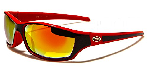 Ciclismo 5340 Xloop Mod Sol Gafas Rojo Kitesurf de Moto Negro Snowboard Esquí Mtb Deporte PaF8P4q
