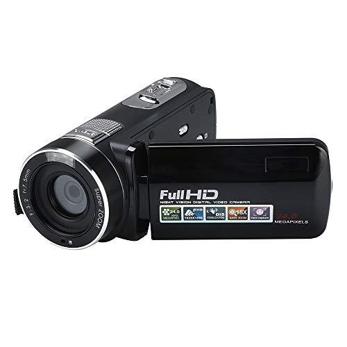 (Fescra Infrared Night Vision Video Camcorder HD 1080P 24 Million Pixels Handheld Digital Camera 18X Digital Zoom)