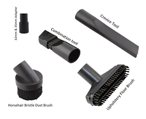 Vacuum Replacement Brush Kit 32 mm and 35mm Hoover Vacuum Cleaner Attachment Dusting Accessories Universal - Hoover Vacuum Cleaner Accessories